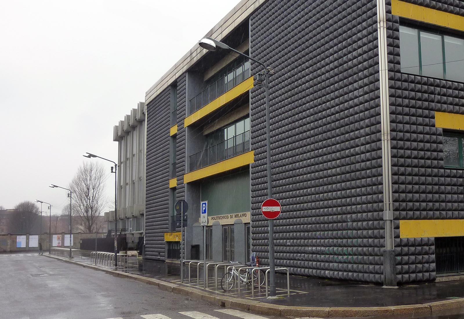 Edificio 25 Politecnico di Milano - Vista da via Clericetti