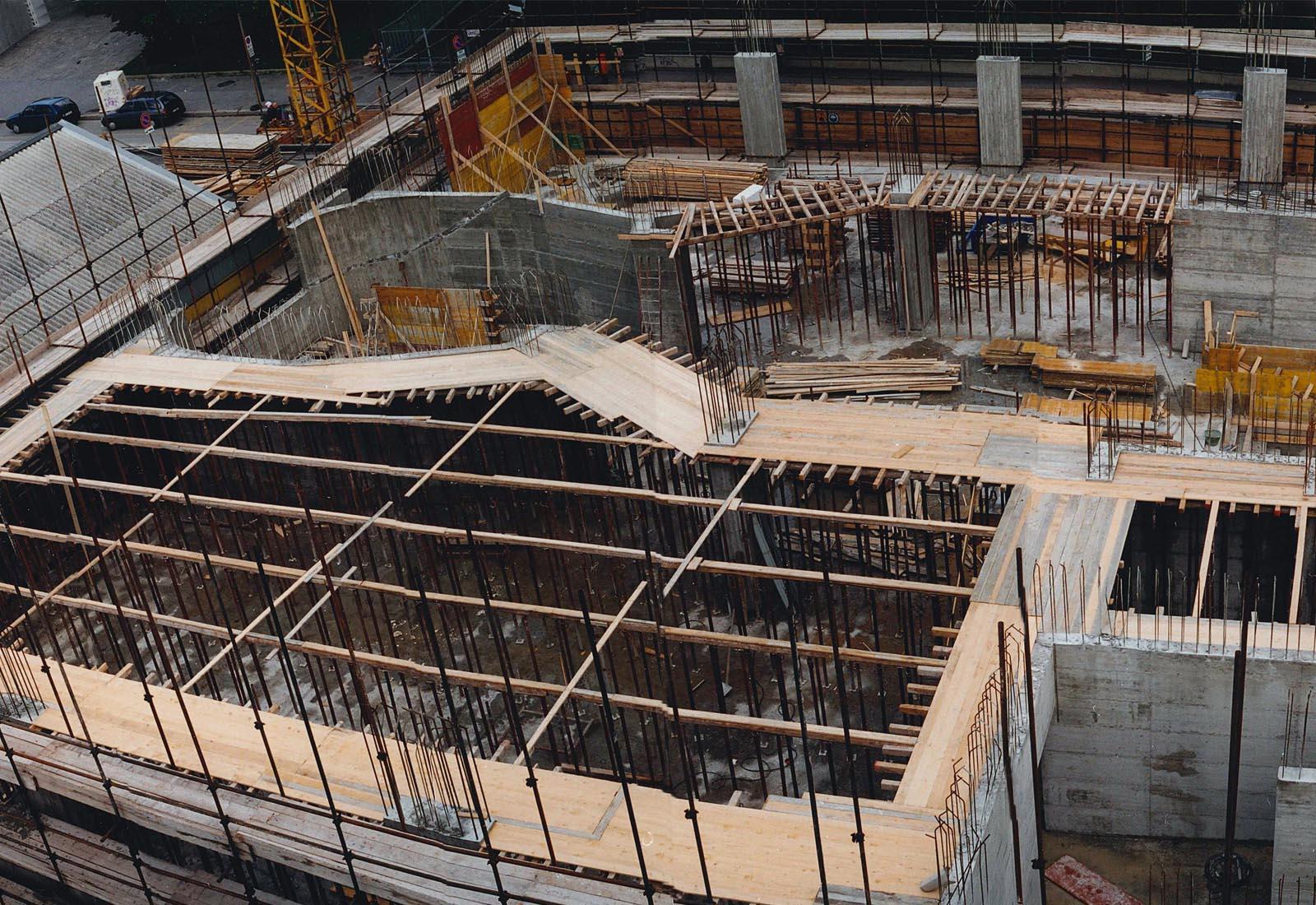 Edificio 25 Politecnico di Milano - Carpenteria solaio primo piano