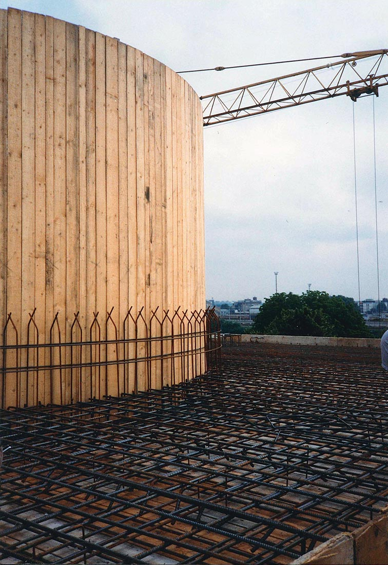 Edificio 25 Politecnico di Milano - Armatura solaio di copertura