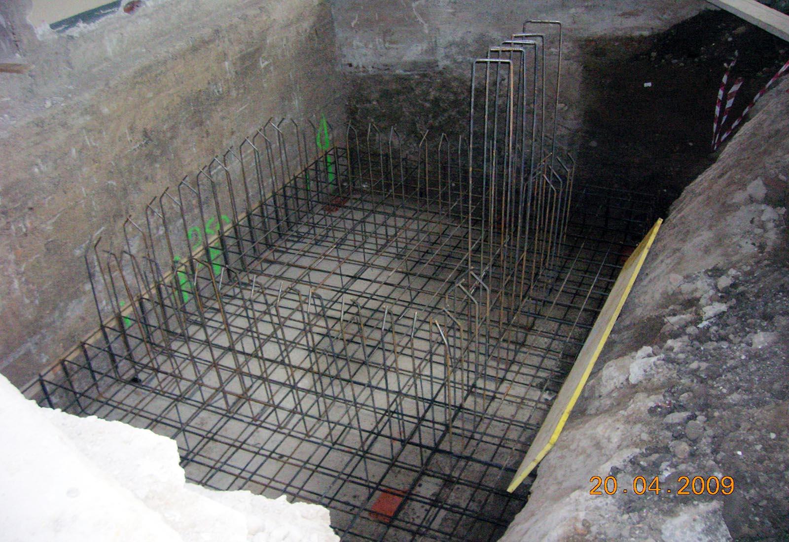 Polo scolastico Manzoni - La struttura del nuovo ascensore