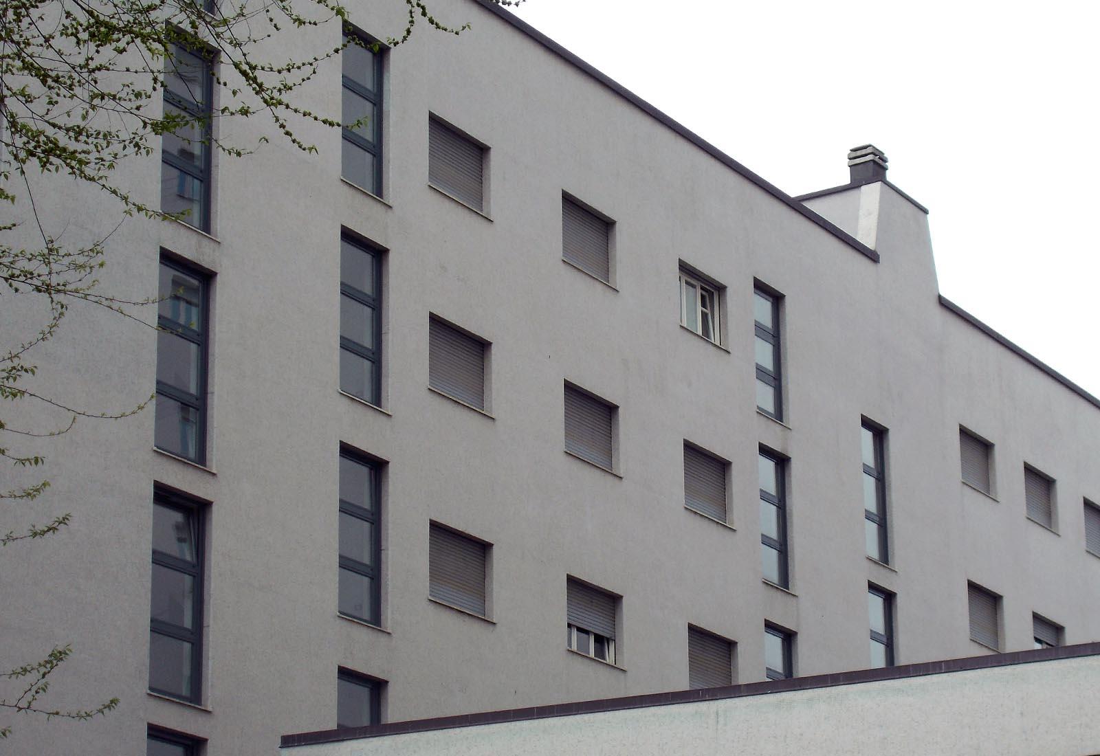 Residenza universitaria di via Corridoni - Vista della casa della Laureata