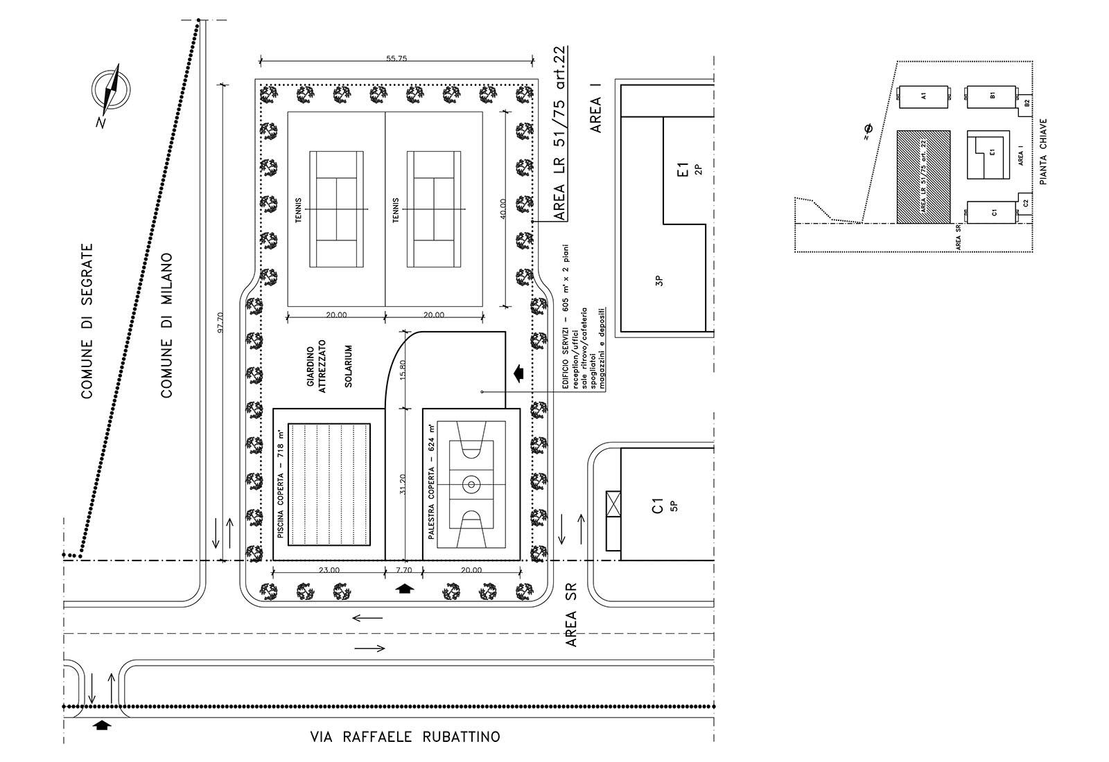 P.A. ENEL Rubattino - Allestimento aree di cessione