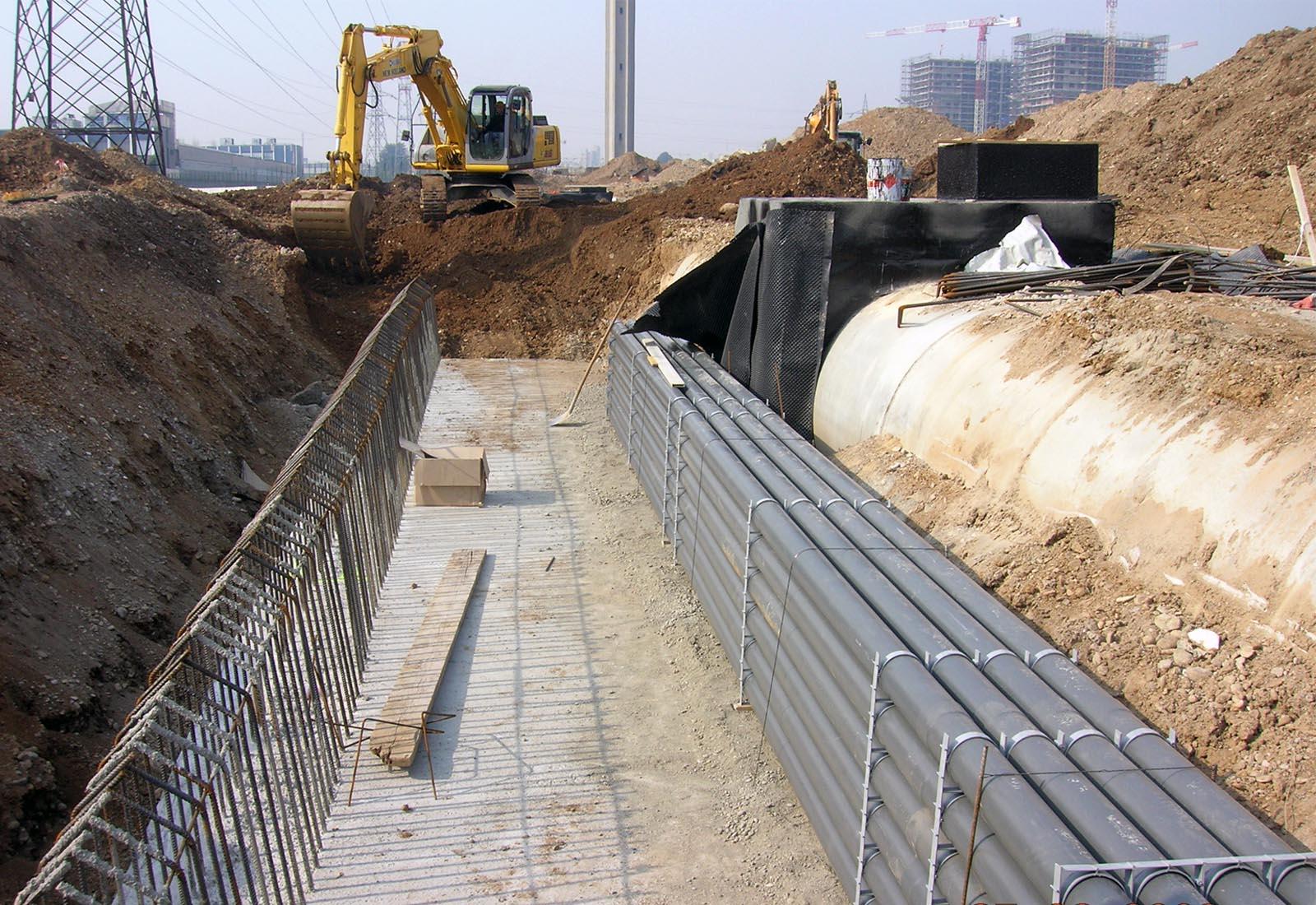 Urbanizzazioni Adriano - Muri di sostegno di via Vipiteno