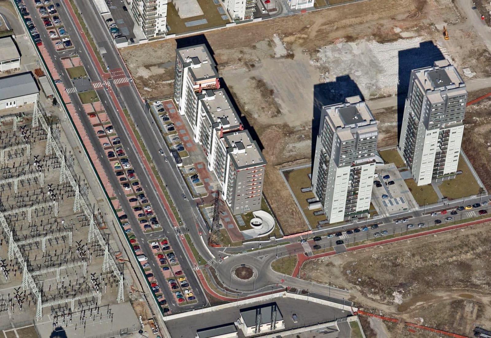 Urbanizzazioni Adriano - Muri di sostegno di via Gassman
