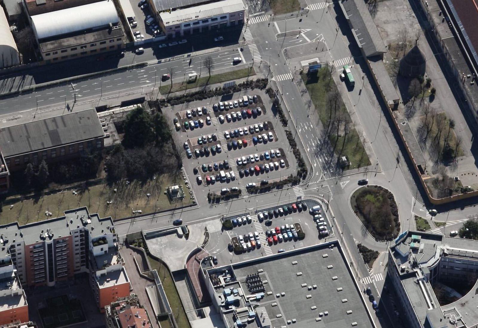Aree a parcheggio del P.R.U. Maserati a Milano | CSA Studio