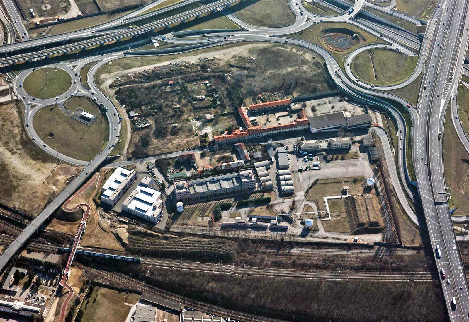 PII Pantanedo Time Town a Rho - Vista aerea dell'area di intervento