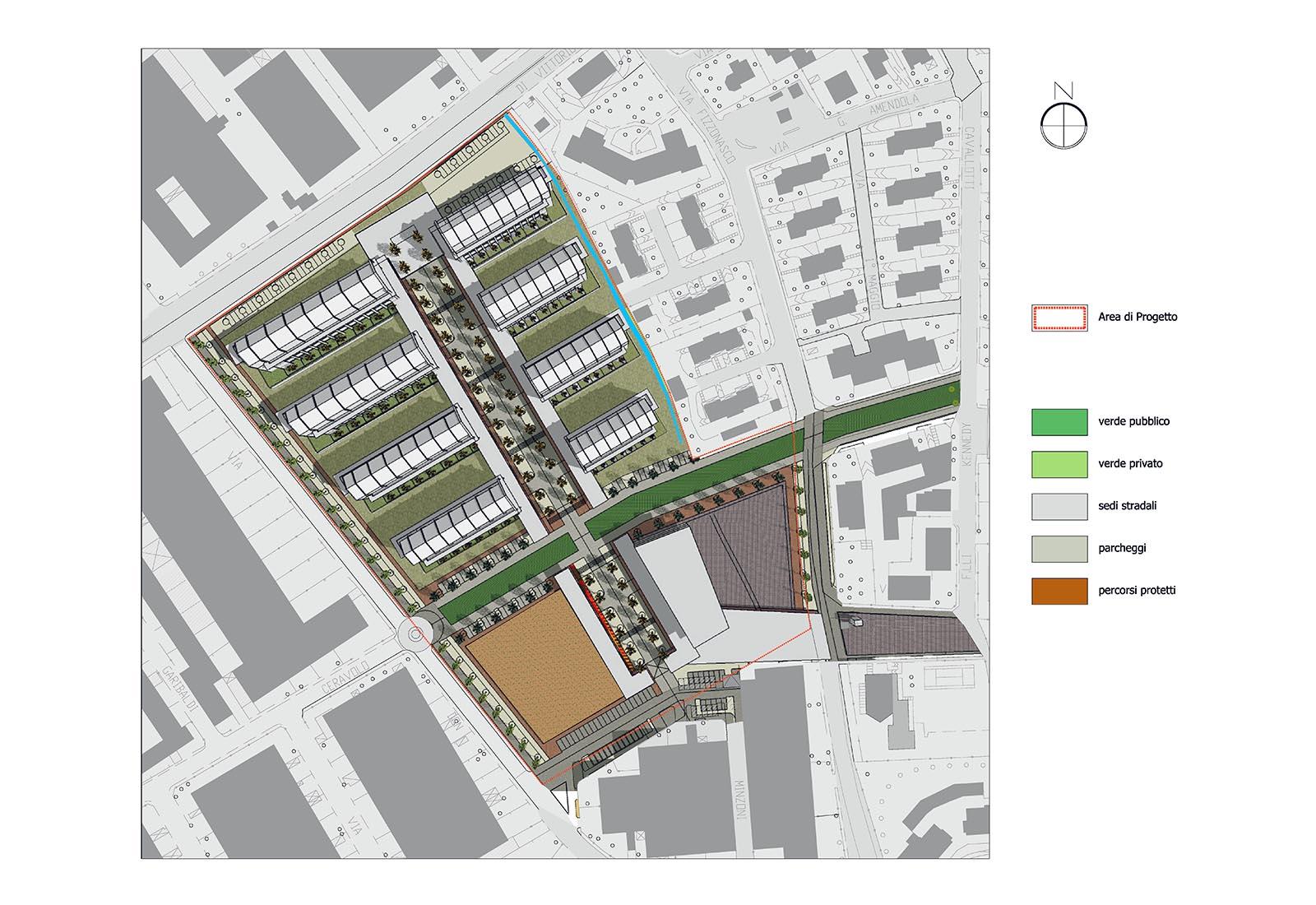 PII Fizzonasco - Planimetria generale di progetto