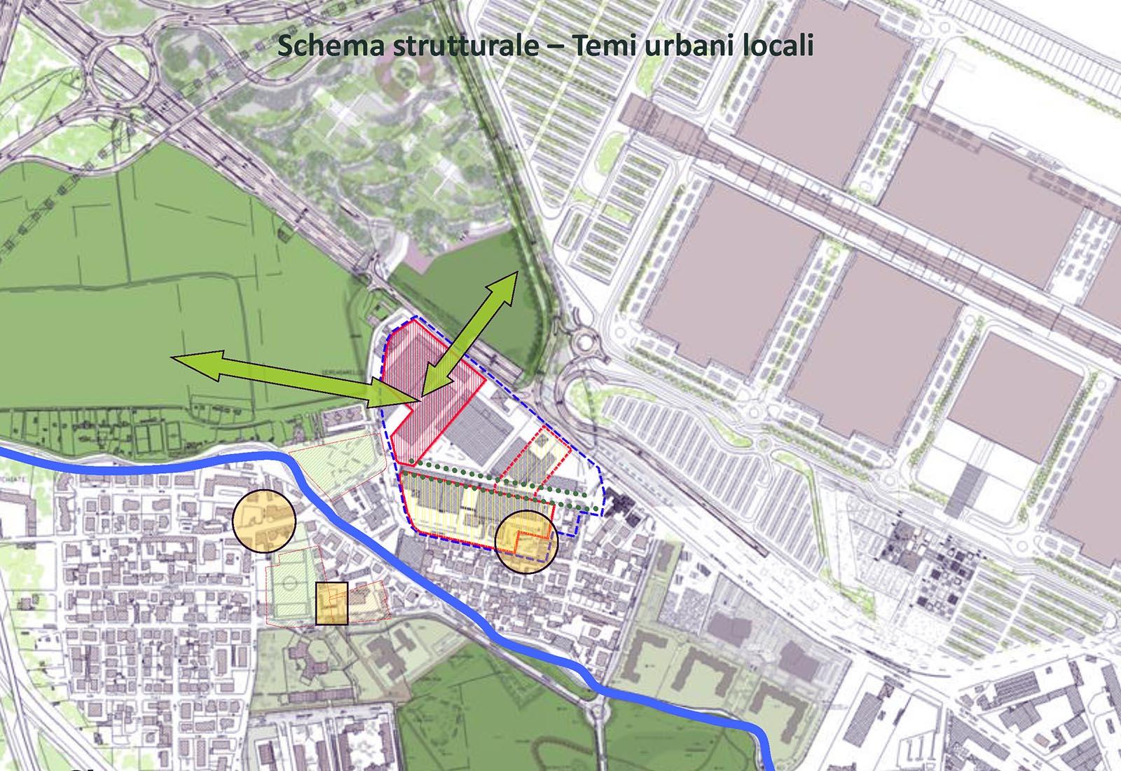 Area Romani a Pero - Analisi dei temi urbani locali