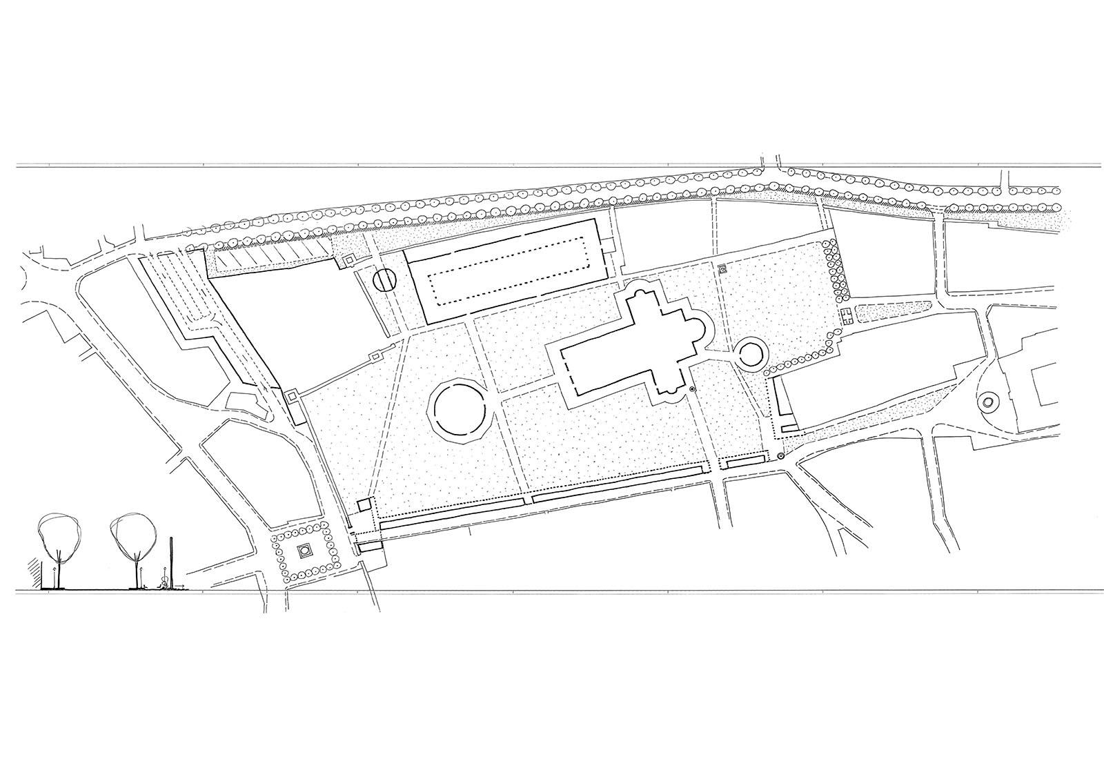 Concorso piazza dei miracoli a Pisa - Metaprogetto
