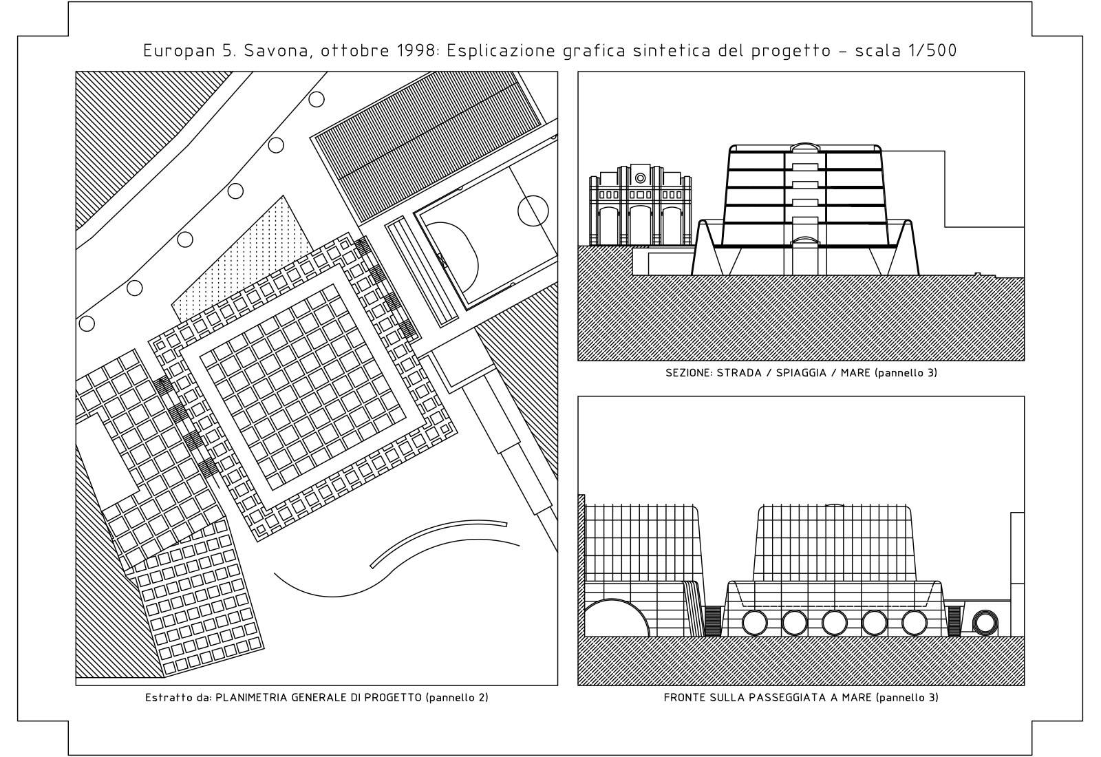 Paesaggi residenziali Savona - Sintesi del progetto