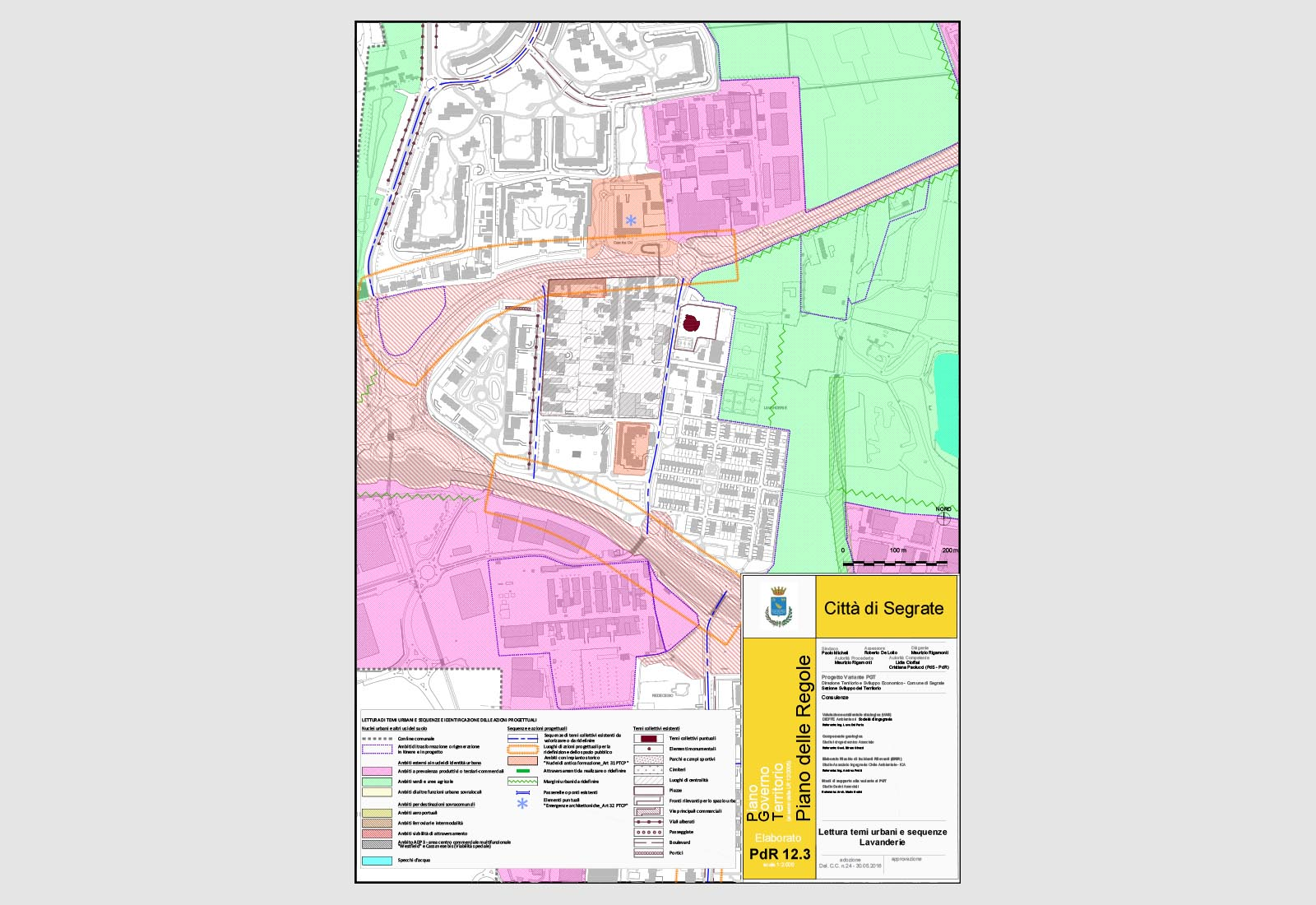 PGT Segrate - Lettura di temi urbani e sequenze - Lavanderie