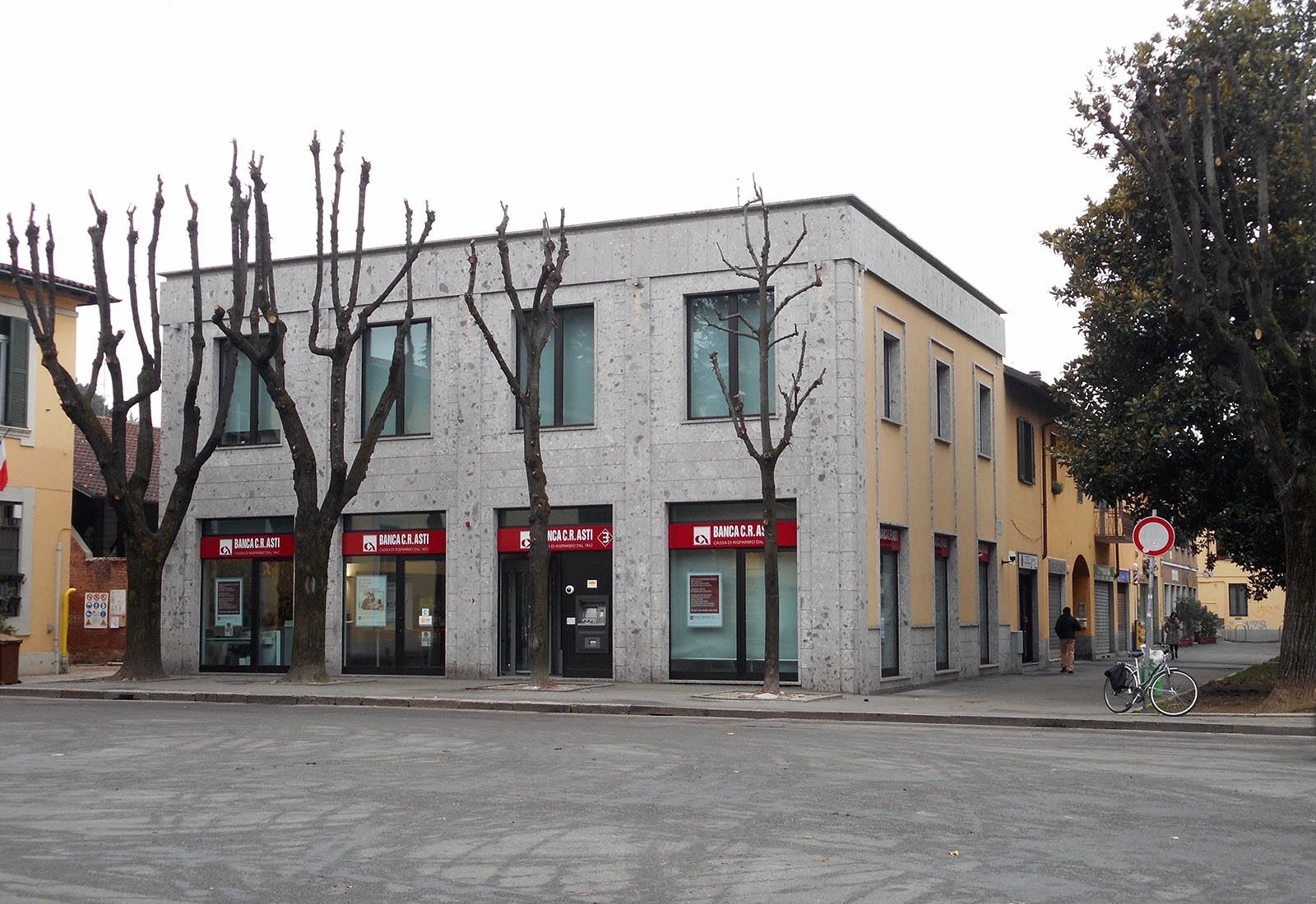 bank building for c.r.asti, rho | csa studio