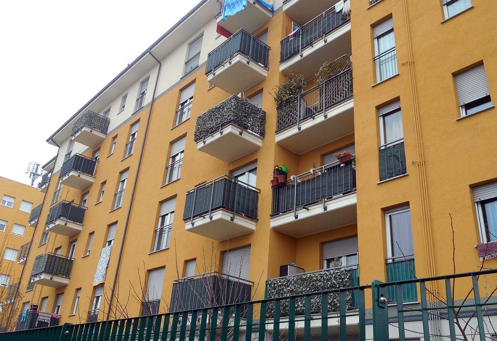 Edificio residenziale ERP a Lissone - Vista
