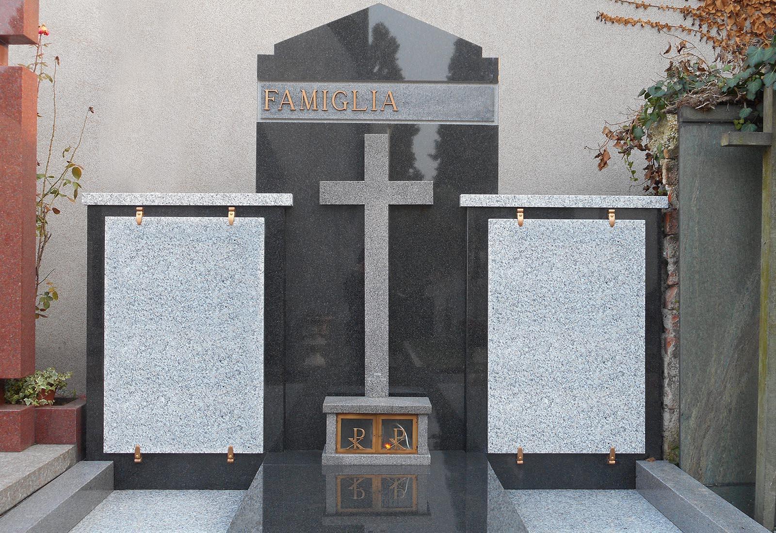 Tomba di famiglia a Rho - Vista