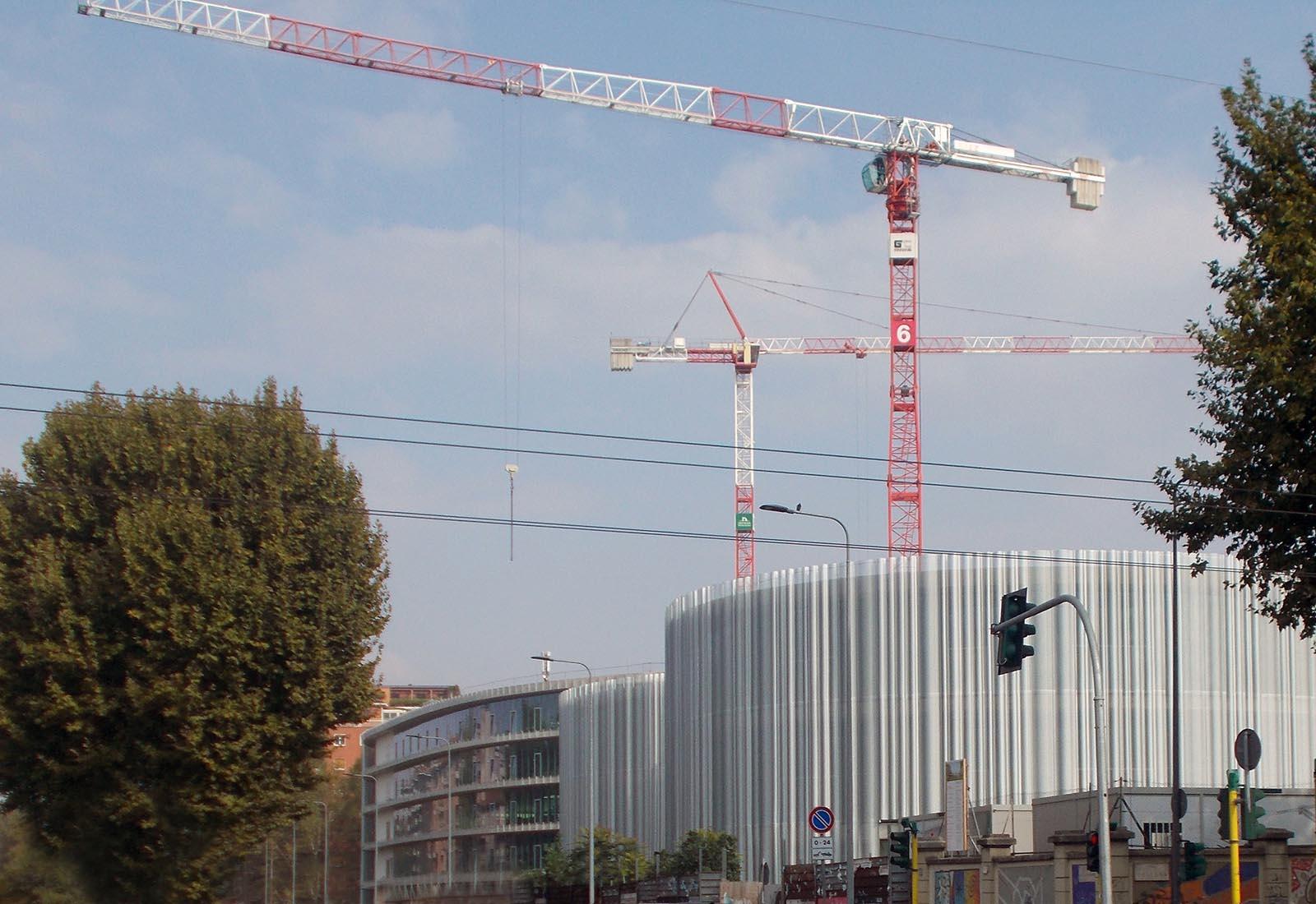 Edifici del campus Bocconi in via Castiglioni a Milano - Vista
