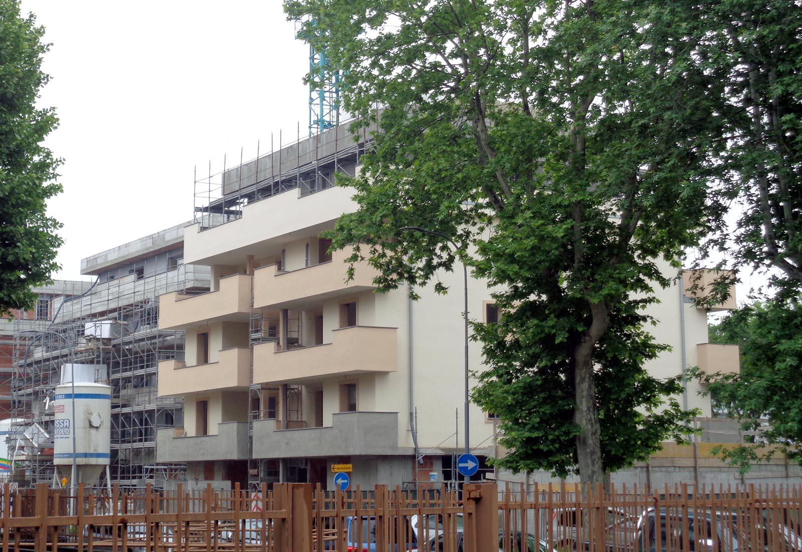 Residenze via Biringhello a Rho - Vista