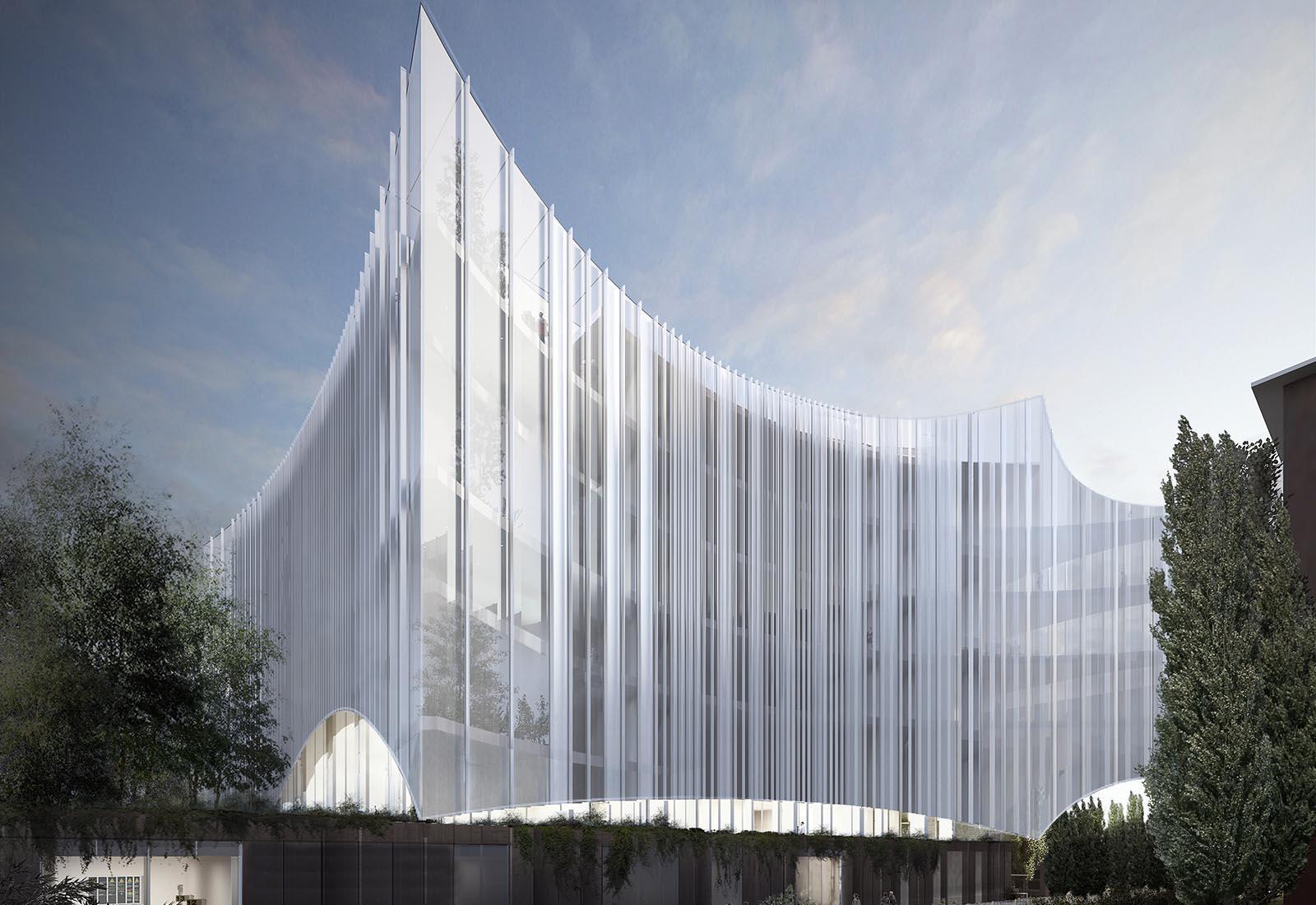 Ampliamento Ospedale San Raffaele a Milano - Vista