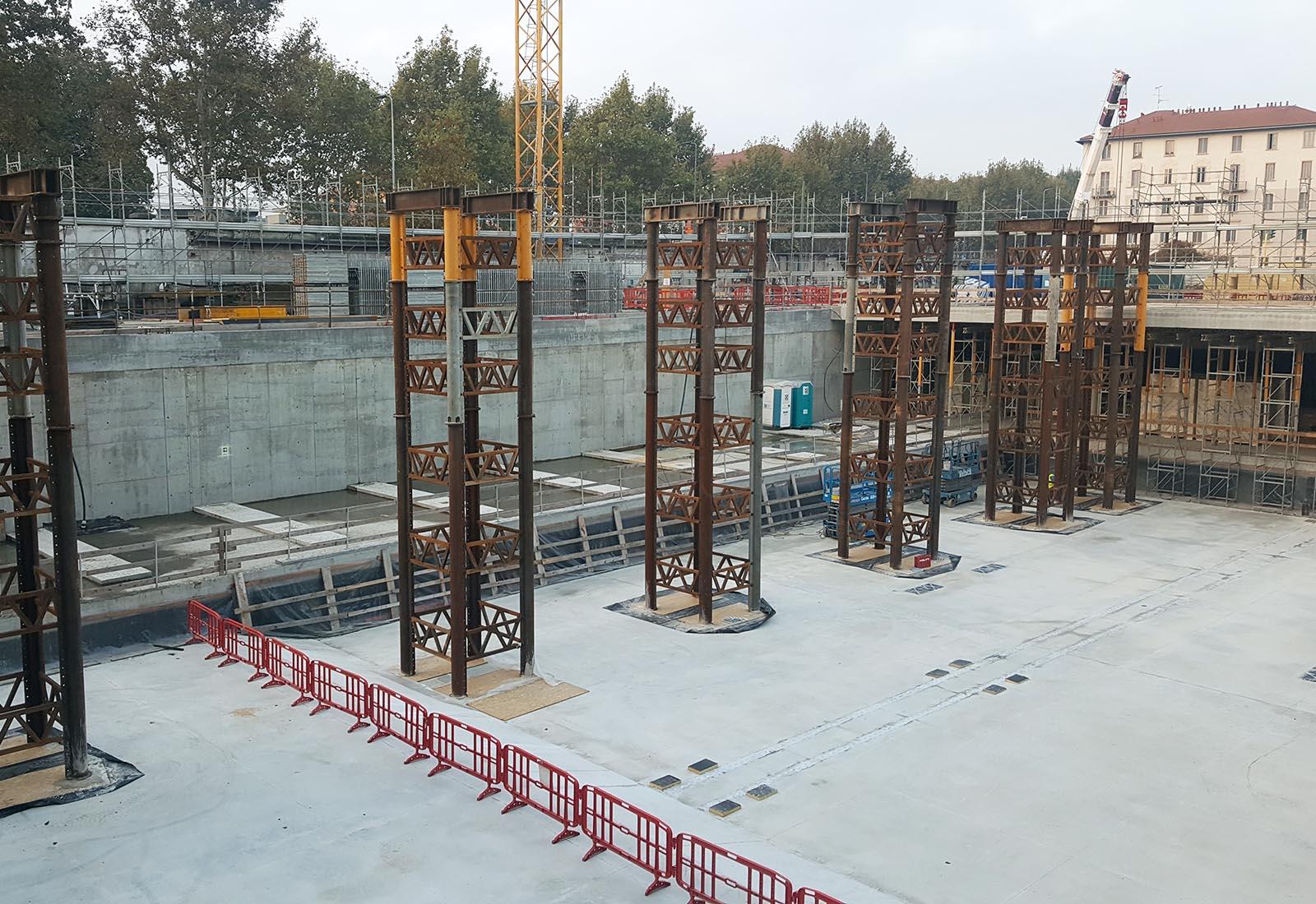 Recreation Center del campus Bocconi in via Castiglioni a Milano - Vista