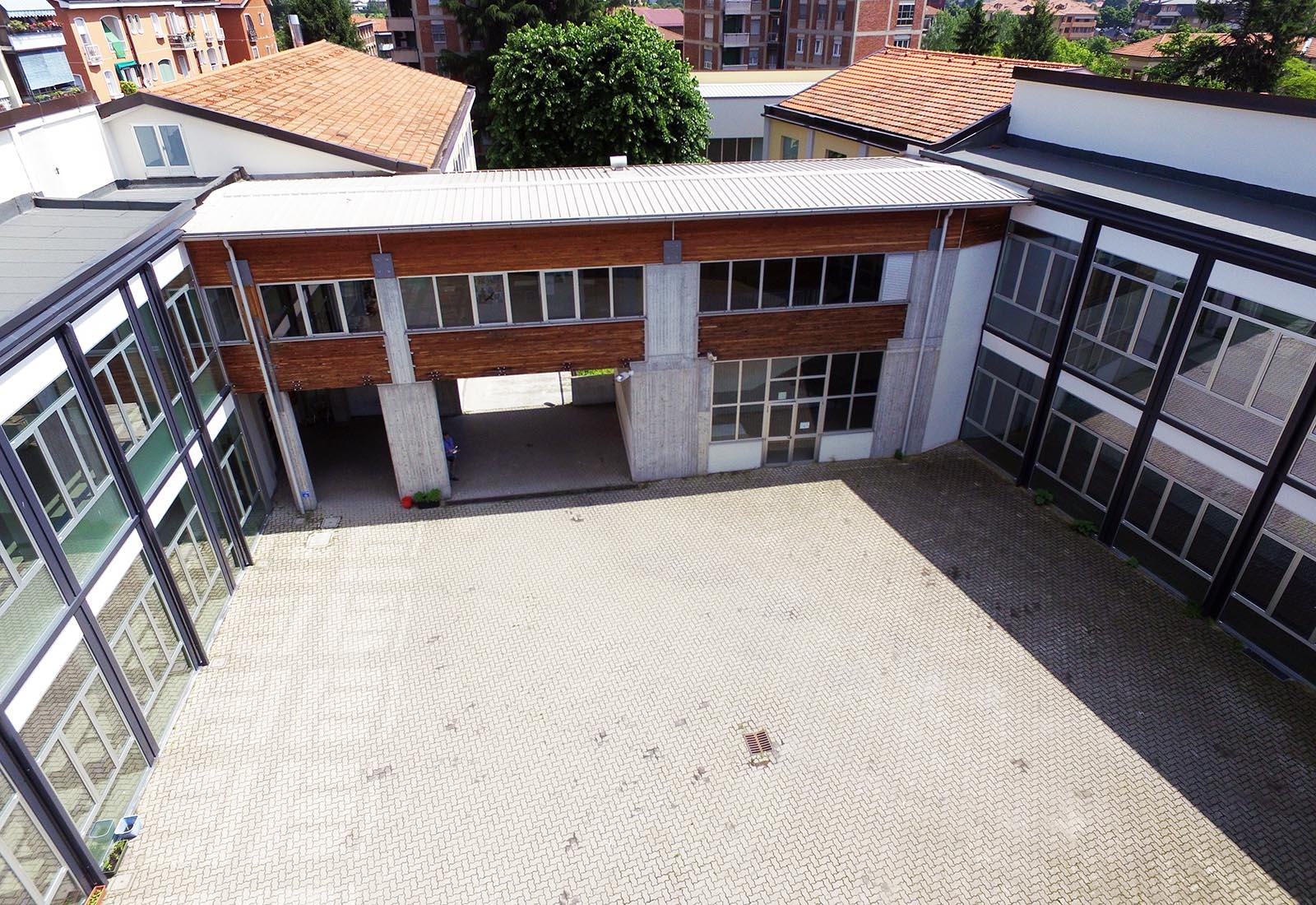 Poliplesso scolastico a Melegnano - Vista