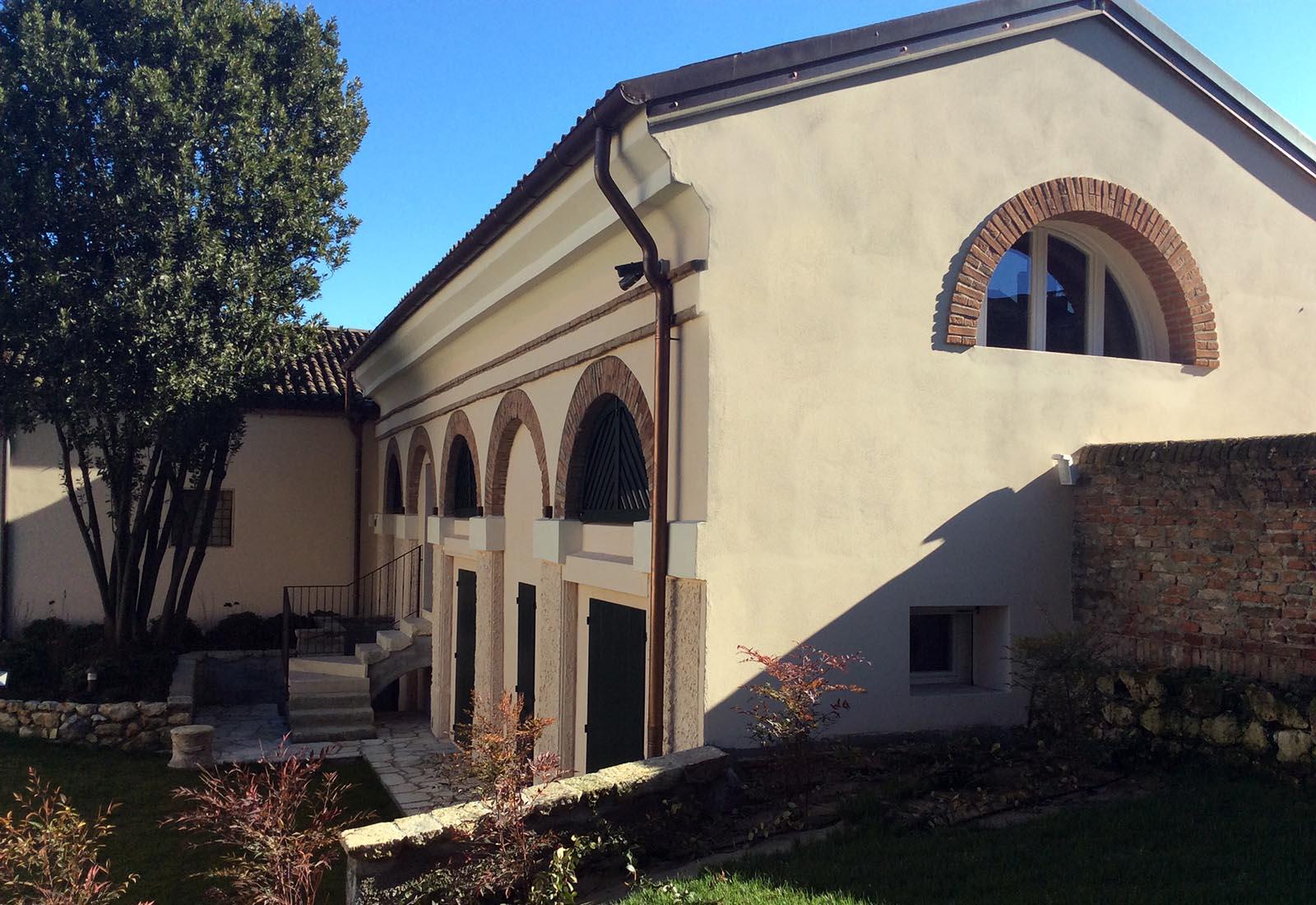 Edificio in muratura a Cologna Veneta - Vista